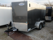 2021 CONTINENTAL CARGO NS712TA2, 7X12 FT. ENCLOSED TRAILER, TANDEM AXLE, 7K RATED