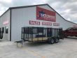 "2019 X-ON 16 FT. 83"" TANDEM AXLE LANDSCAPE TRAILER"