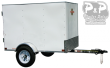 2020 CARRY-ON 4X6CG ENCLOSED CARGO TRAILER