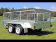 OZZI TRAILERS 10X5 GALVANISED BOX TRAILER