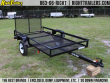 4X8 RED HOT   UTILITY TRAILER