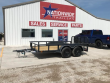 "2019 X-ON 12 FT. 83"" TANDEM AXLE UTILITY TRAILER"