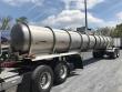 BRENNER DOT412, AIR RIDE, REAR UNLOAD, 4500G CHEMICAL / ACID TANK TRAILER