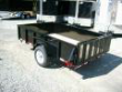 6 X 10 HIGH SOLID SIDES ATV LAWNMOWER UTILITY TRAILER