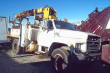 1984 FORD F700 SALVAGE TRUCK