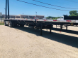 2009 UTILITY 48X102 FLATBED TRAILER - COMBO, ALUMINUM FLOOR, SPREAD AXLE, TOOLBOXES