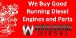 MERCEDES-BENZ SPRINTER 2500 DIESEL ENGINE