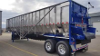 TRINITY 42X102 TANDEM AXLE STAINLESS STEEL BELT TRAILER - AIR RIDE, FIXED AXLE