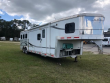 2006 BISON TRAILERS STRATUS 8' WIDE 3 HORSE W/10' LQ SLIDE AND GEN HORSE TRAILER