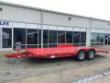 2020 SURE-TRAC 20' STEEL DECK CAR HAULER TRAILER 10K GVWR STOCK# 9457