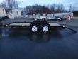 BIG TEX TRAILERS 7' X 16' WOOD DECK CAR HAULER