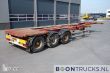 WIELTON CONTAINER SEMI-TRAILER NS34 20-30-40-45FT HC *EXTENDABLE REAR* 3 AXLES