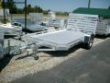 7712H SINGLE AXLE ALUMA UTILITY TRAILER HEAVY DUTY