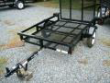 4 X 8 SINGLE ATV LAWNMOWER UTILITY TRAILER MINI