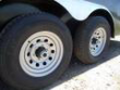 COVERED WAGON TRAILERS 8.5X24 CHARCOAL RAMP DOOR ENCLOSED CARGO STOCK# ECCW8524-60145