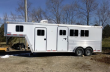 2006 FEATHERLITE 8541 3 HORSE TRAILER WITH DRESSING AREA
