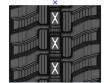 CAMOPLAST SD1807237XAR RUBBER TRACK