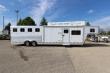 2009 FEATHERLITE 4HR 14' LQ HORSE TRAILER