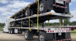 2007 FONTAINE 48X102, COMBO, POLISHED ALUMINUM WHEELS, NEW STRAP FLATBED TRAILER, FLAT DECK TRAILER