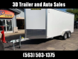 "2020 ALUMA AE 7' X 14' TAR W/ 9"" EXTRA TALL ALUMINUM ENCLOSED CARGO TRAILER"
