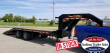 2019 DOOLITTLE TRAILER MFG 102X20 BRUTEFORCE GOOSENECK EQUIPMENT TRAILER