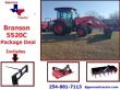 2021 BRANSON 5520C HOT PACKAGE DEAL