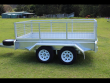 OZZI TRAILERS 9X5 GALVANISED BOX TRAILER
