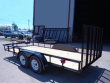 2020 P&T TRAILERS TANDEM AXLE UTILITY