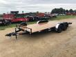 """2020 H & H 82""""X18' 7K CAR HAULER TRAILER #26608"""
