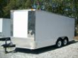 8.5X24 10K V-NOSE WHITE W RAMP AND SIDE DOOR 2019