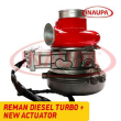 REBUILT 2882111RX CUMMINS ISX15 HE400VG/HE451VE TURBO DIESEL – + CORE DEPOSIT – NEW CALIBRATED ACTUATOR INCLUDED