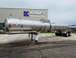 POLAR 5000 GALLON EXTERIOR RING DOT 407 CHEMICAL TANK CHEMICAL / ACID TANK TRAILER