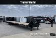 2019 IRON BULL 40' FLATBED GOOSENECK TRAILER 22K GVWR