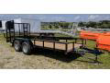 2020 QUALITY 6X16 ECONO UTILITY TRAILER (NO DOVE) STOCK# QT2583