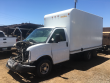 2004 CHEVROLET EXPRESS 3500 BOX TRUCK - STRAIGHT TRUCK, SALVAGE TRUCK