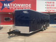 2019 LOOK TRAILERS 8.5' X 20' TANDEM AXLE CARGO TRAILER 10K