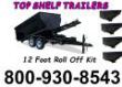 TOP SHELF TRAILER HAS ROLL OFF DUMP TRAILERS