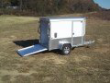 5X8 SA ENCLOSED TRAILER ALL ALUMINUM ALUMA AE58M