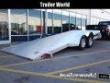 2022 ALUMA 8216 TILT BED ALUMINUM OPEN CAR HAULER TRAILER