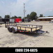"""LOAD TRAIL 83"""" X 16' UTILITY TRAILER - DOWN & PAYMENTS FROM W.A.C."""