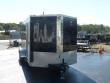 DIAMOND CARGO 7X14TA BLACK ENCLOSED CARGO TRAILER WITH RAMP
