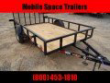 DOWN 2 EARTH TRAILERS 76X12UT UTILITY TRAILER WITH DOVE TAIL STOCK# DTE7612G29-0001