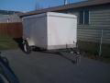 2010 - 5X8 ENCLOSED UTILITY TRAILER