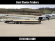 "2018 SURE-TRAC 102X25' GOOSENECK BEAVERTAIL DECKOVER TRAILER 22500# GVW * DEXTER AXLES * FLIPOVER RAMPS + SPRING ASSIST * 12"" I-BEAM * PIERCED FRAME * RUBRAIL/STAKE POCKETS/PIPE SPOOLS/10 D-RINGS * CROSS TRAC BRACING * HD BEAVERTAIL * CLEARANCE"