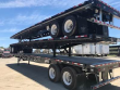 MANAC 48X102 TANDEM AXLE STEEL FLATBED TRAILER - AIR RIDE, SLIDING AXLE