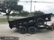 2018 BIG TEX TRAILERS 14FT DUMP TRAILER WITH 2FT SIDES