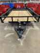 2021 CAM SUPERLINE P8216TAT-B-070 (7X16 TUBE TOP CAM UTILITY TRAILER 7K TANDEM) UTILITY TRAILER STOC