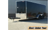 """2022 H&H 7'X16' 78"""" TALL ENCLOSED CARGO TRAILER"""
