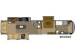 2014 HEARTLAND RV BIGHORN 3875