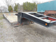 1991 TRAIL KING 30X96 LOWBOY TRAILER - 35 TON, 21FT WELL, HYDRAULIC DETACH, NON-GROUND BEARING, TANDEM AXLE, D-RINGS